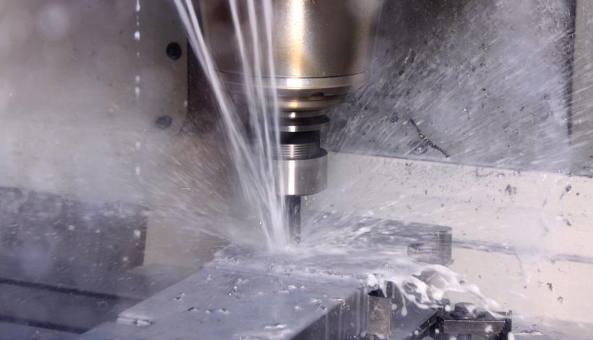Ein Werkstück in Arbeit