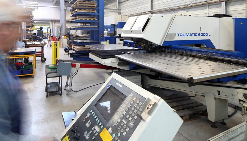 Vielseitig: Unsere TRUMPF Trumatic 6000 L